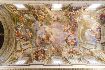 Fresco of Sant'Ignazio, Rome Italy