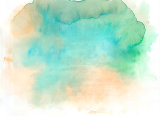 watercolor background mix