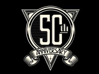 50 Years Anniversary Logo