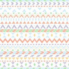 Seamless vintage pattern cute. Simple geometric pattern. White,