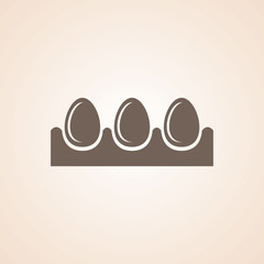 Icon Of Egg Tray.