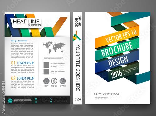 Vector magazine,modern flyers brochure,cove,annual report,design ...