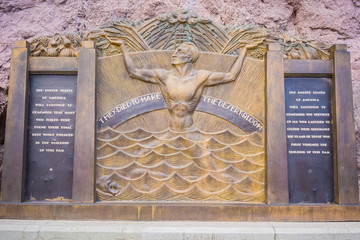 Faded Hoover Dam Tribute