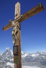 Blick vom Kleinen Matterhorn 3789m zur Königin von Zermatt - Großes Matterhorn 4478m