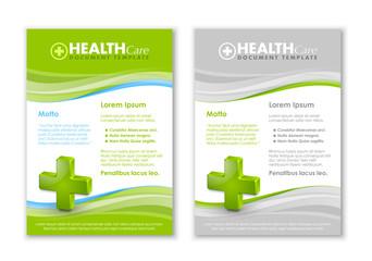 Health care document templates