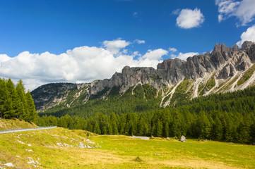 Along the Great Dolomite Road, Italian Alps