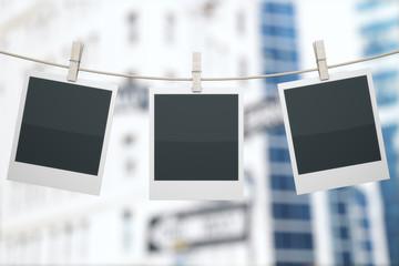 Polaroids on construction