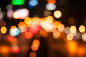 Bokeh ,blur nigth lights background