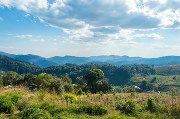 Attractions in Thailand Mon Cham, Chiang Mai, Thailand - Tourist attractions on highly popular.