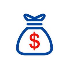 dollar bag money logo