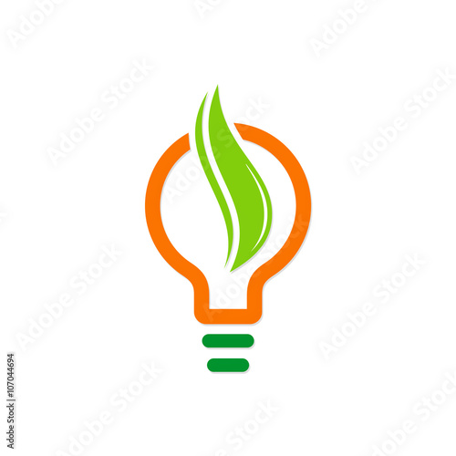 quoteco light bulb logoquot stock image and royaltyfree vector