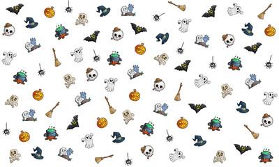 Halloween background theme