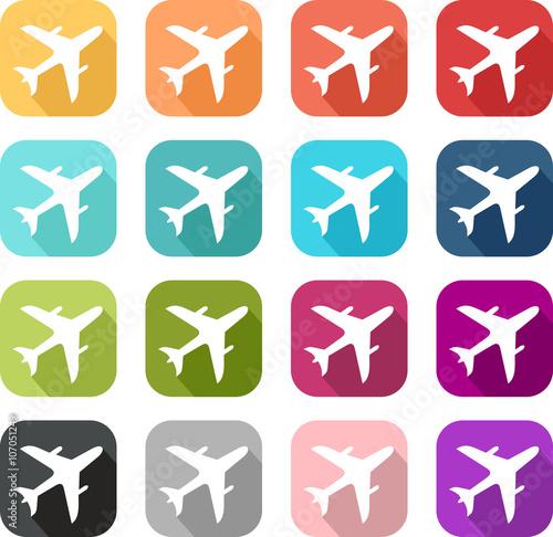 u0026quot ic u00f4ne avion u0026quot  fichier vectoriel libre de droits sur la