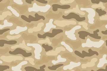 Abstract Vector Military Camouflage Background.