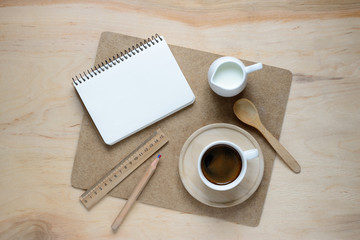 Working desk concept