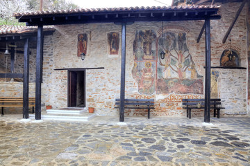 Kastoria. Church of Our Lady Mavritosy. Ancient frescos