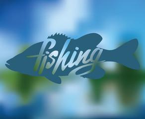logo bass fish