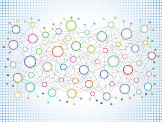 Abstract Network Background II