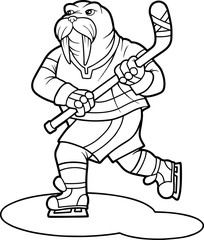 walrus hockey