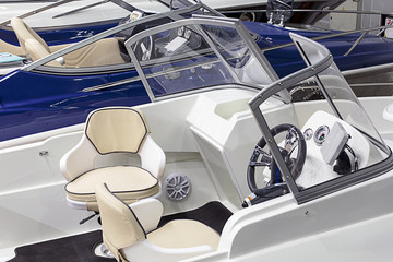 Printed roller blinds Water Motor sports Interior Yacht