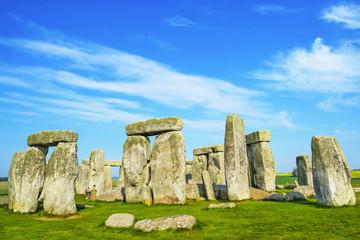 Stonehenge in Wiltshire in England