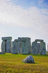 Stonehenge in Wiltshire of England