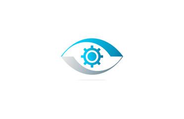 eye vision engineering logo