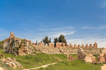 Preveza Greece, Roman ancient theater in Nikopolis