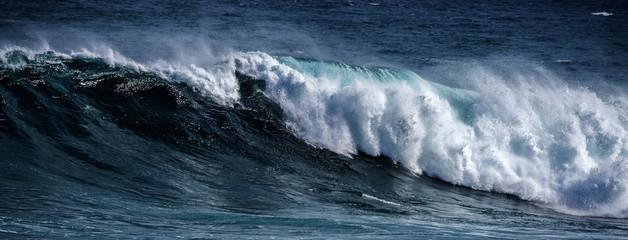 Autocollant pour porte Eau big sea wave