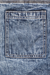 Texture fabric blue jeans background