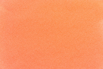 The texture of fabric polyester peach color
