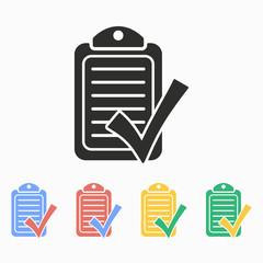 Checklist - vector icon.