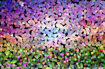 Colourful spark and blow lovely fantasy mood abstract sweet chee