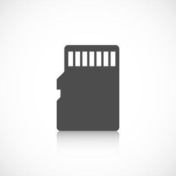 Micro sd card icon
