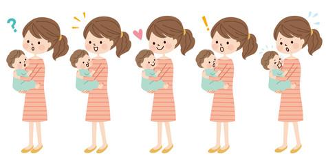 赤ちゃん 母親