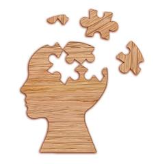 Mental health symbol.