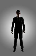 Confident businessman of Asian