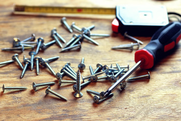 screws and screwdriver Roulette