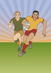 Rugby Spieler 2