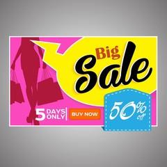 Big Sale Banners. Vector illustration.