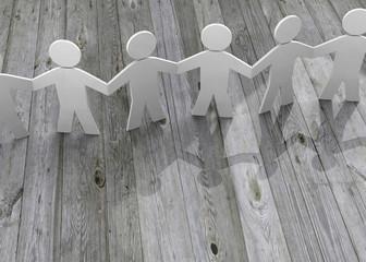 Friendship Concept - 3D