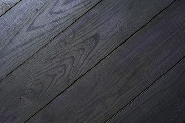 Dark blue wooden boards background