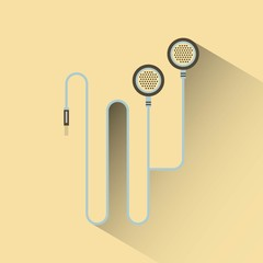 headphones icon design