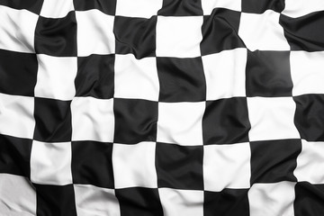 Target flag, end of race