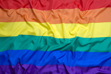 Rainbow flag for background