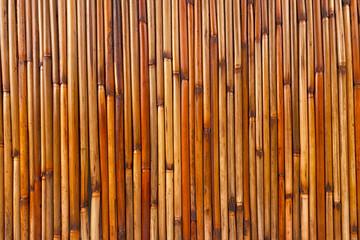 Varnished bamboo background