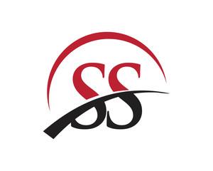 SS red letter logo swoosh