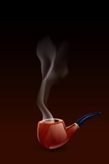 smoke pipe dark