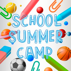 School summer camp