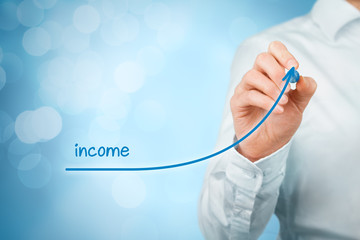 Income increase